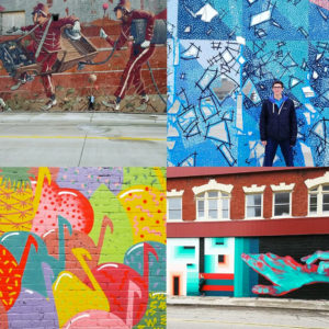 Awesome Mitten Street Art article